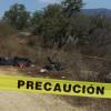 ENCUENTRAN  BOLSAS CON RESTOS HUMANOS EN CHILAPA