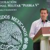 LAS FUERZAS ARMADAS SE LA RIFAN POR MÉXICO: EPN