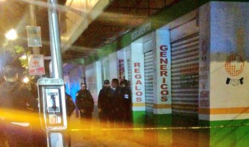 ASESINAN A POLICÍA, HUYEN Y LOS DETIENEN EN EL CENTRO DE LA CDMX