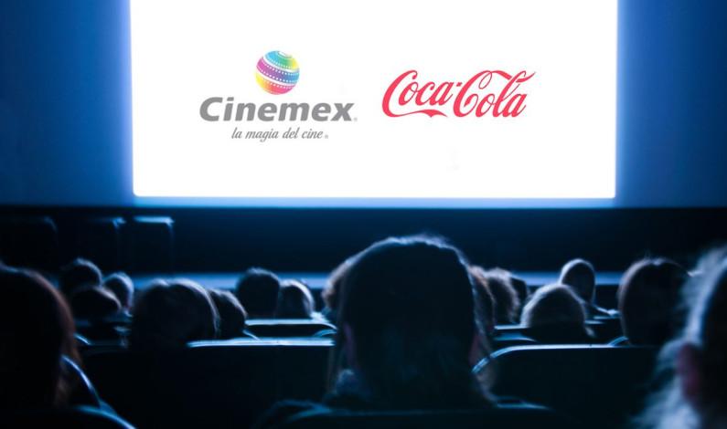 Cinemex se une con Coca-Cola