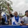 NICARAGÜENSES RECORREN LAS CALLES DE MANAGUA PARA EXIGIR JUSTICIA