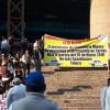 Colapsan transportistas mexiquenses el Valle de México