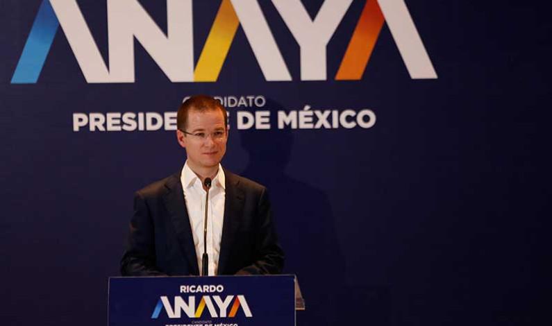 Propone Ricardo Anaya dignificación magisterial