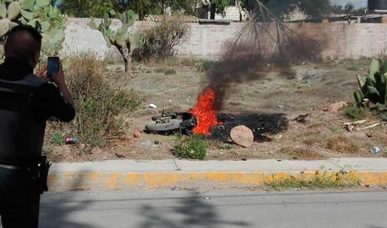 Linchan y queman a presunto ladrón; sobreviven dos, en Temascalapa