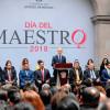 Anuncia Del Mazo bono más jugoso por Día del Maestro