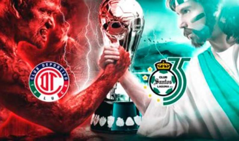 """La Final Toluca vs Santos domingo 19:00 horas para """"dejarle auditorio"""" al debate presidencial"""