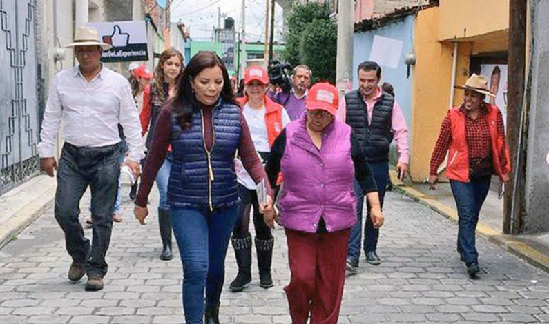 Recuperará Metepec funcionalidad y belleza, ofrece Carolina Monroy