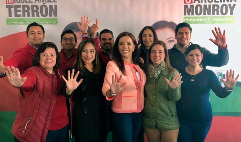 ¡Orden, orden y más orden! Garantiza Carolina Monroy a Metepec; presenta Plan 2019-2021
