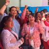 Mete el acelerador Carolina Monroy en su campaña por la alcaldía de Metepec