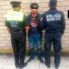 Despojaba a mujeres de celulares y bolsos, fue detenido por policías de Zinacantepec