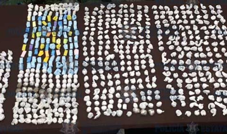 Drogas y armas incautan en penal de Ecatepec