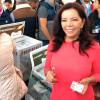 Respeto y legalidad pide Carolina Monroy en la jornada electoral