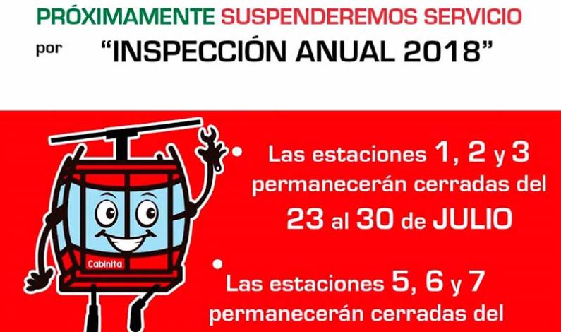 Darán mantenimiento al Mexicable, de Ecatepec