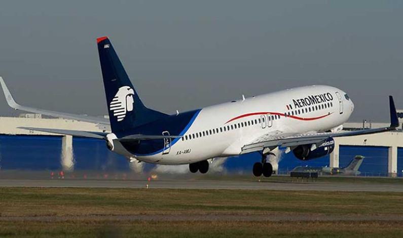 Se desploma aeronave de Aeroméxico en Durango