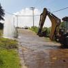 Reparan fuga de agua que afectó a 7 municipios del sur-oriente mexiquense
