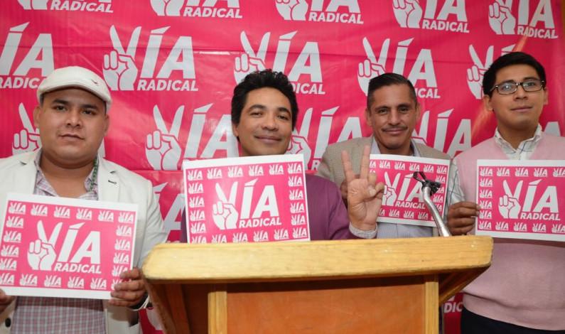 Debut y despedida a Vía Radical en el proceso electoral 2017-2018