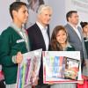 Pone en marcha Del Mazo ciclo escolar 2018-2019 y entrega de paquetes de útiles escolares