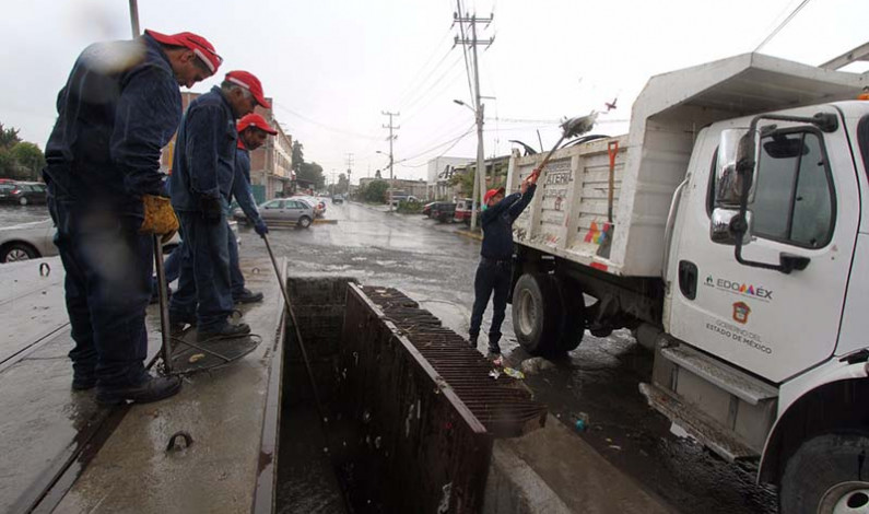 Se alista Edomex para intensa temporada de lluvias