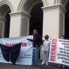 Simpatizantes de Morena exigen que UAEM explique dónde quedaron las cuotas del ISSEMyM de los empleados