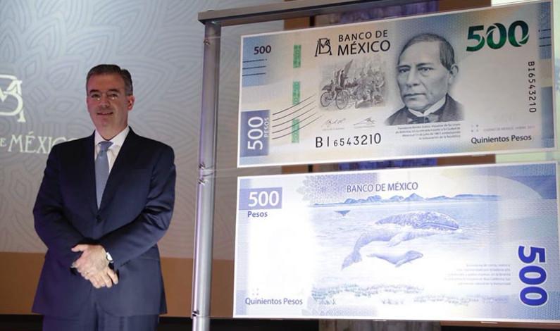 Benito Juárez es el nuevo rostro del billete de 500 pesos