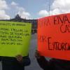 Intercambian acusaciones los comerciantes del tianguis Aviación-Autopan