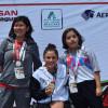 Conquistan mexiquenses primeras medallas en Paralimpiada Nacional 2018