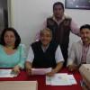 Ricardo Rivera Nava aspirante a candidato de la secretaría general del SMSEM por Morema