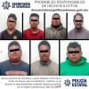 Atrapan a ocho por presunto robo equiparado