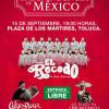 Celso Piña y banda El Recodo darán El Grito de Independencia en Toluca