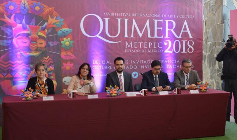 Convoca Metepec a la 28 edición del Festival Cultural Quimera
