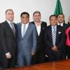 Rodean a Oscar Sánchez Juárez políticos señalados de corrupción, vender candidaturas y enriquecimiento ilícito