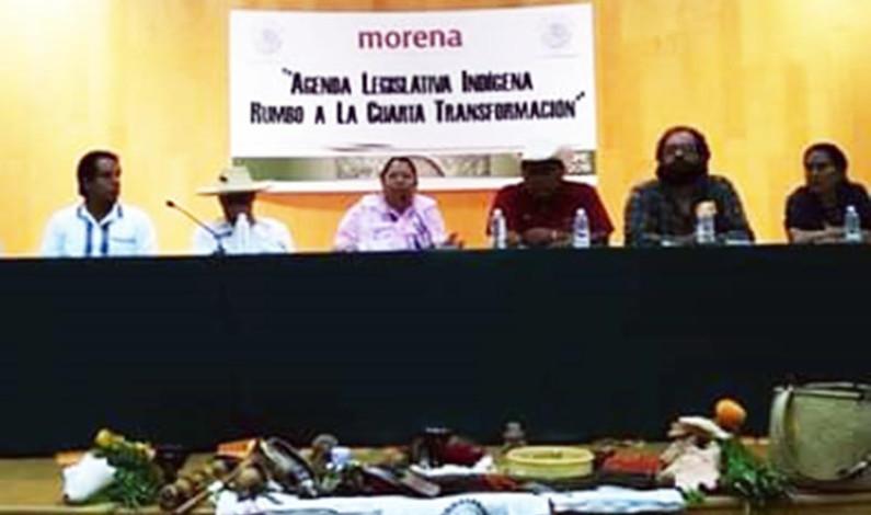 Abraza la Cuarta Transformación a los pueblos indígenas
