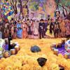 Dedica Fundación Ideas Libres tradicional ofrenda de Día de Muertos a Diego Rivera