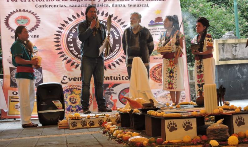 Se reúnen en Toluca pueblos originarios de América