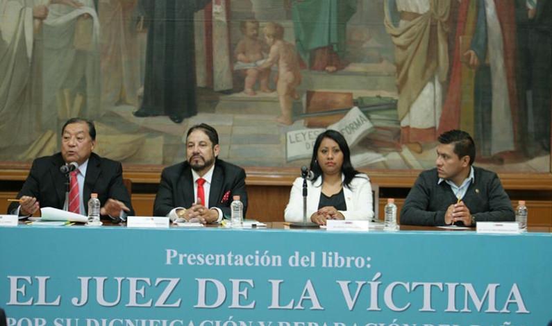 Jueces deben ser más humanos con las víctimas del delito: Castillo Ambriz