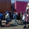 Apoya Cruz Roja Edomex el paso de caravana de migrantes centroamericanos