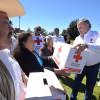 Entrega Cruz Roja del Estado de México ayuda humanitaria a pobladores de comunidades serranas