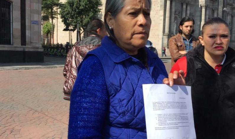 "Señalan a Elba Castaño y su organización ""Lázaro Cárdenas"" por abusos y atropellos en mercado Aviación-Autopan"