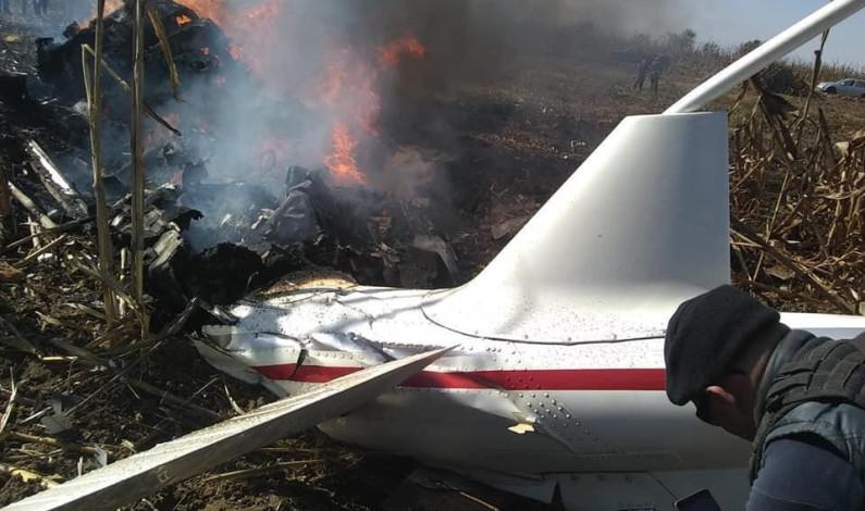 Mueren en accidente aéreo gobernadora y ex gobernador de Puebla