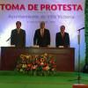 Rinde protesta Mario Santana Carbajal como alcalde de Villa Victoria