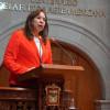 Solicita Mercedes Colín fortalecer en municipios Alerta de Género