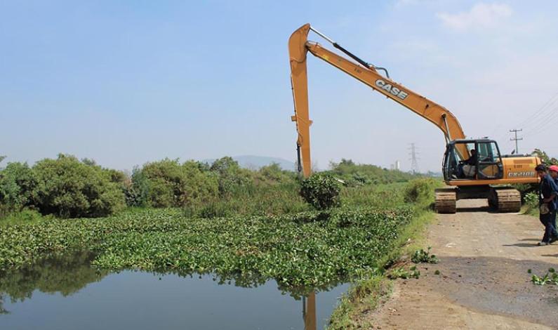 Limpia CAEM sistemas de drenaje para prevenir inundaciones