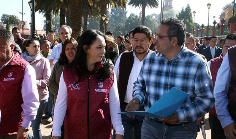 Ayuntamiento de Metepec no seguirá pagando la estructura política del PRI: Gabriela Gamboa