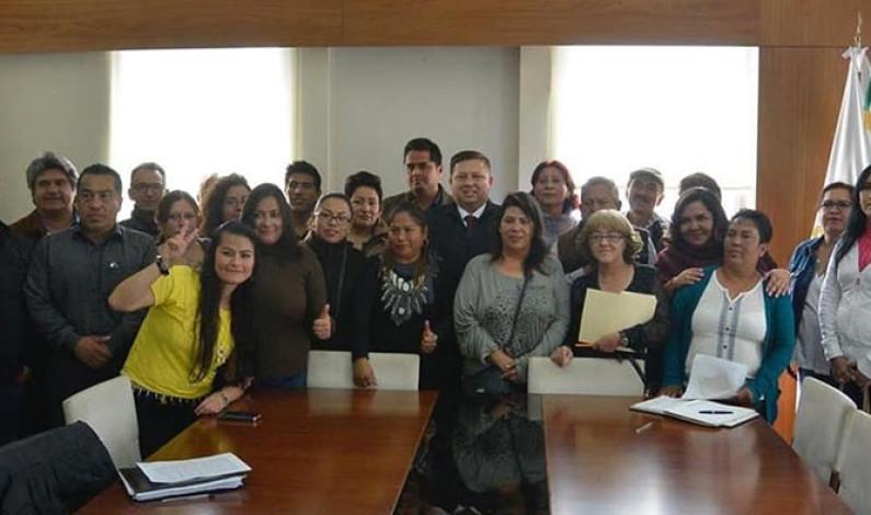 Armando Navarrete se reunió con representantes de fraccionamientos