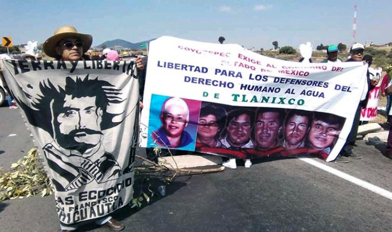 Bloquean autopista para exigir liberen indígenas de Tlanixco