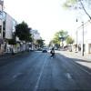 Calles vacías en Toluca deja falta de combustible
