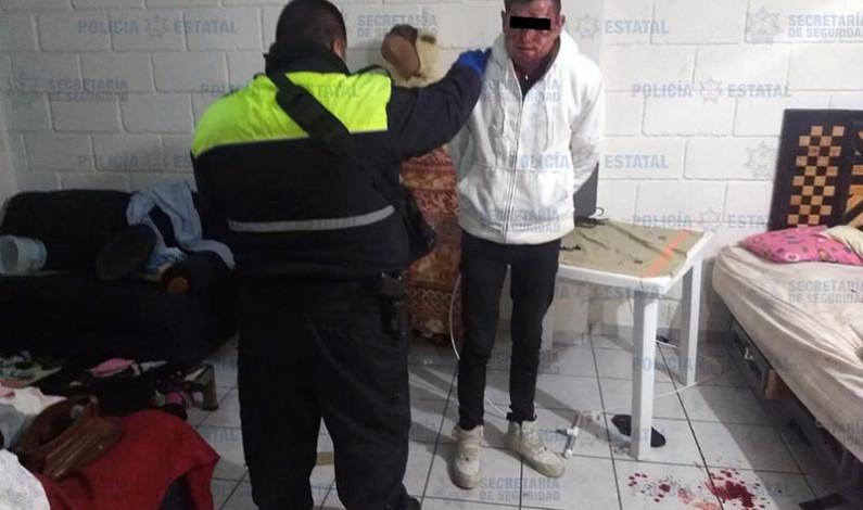 Salvan policías a presunto delincuente sexual de ser asesinado a golpes