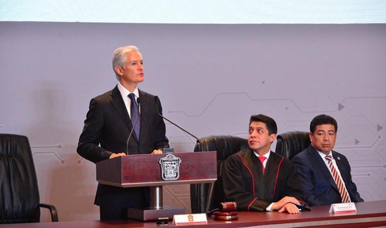 Sin justicia persistirá desigualdad y pobreza, advierte Del Mazo