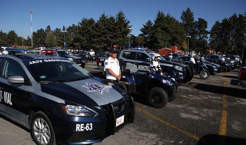 Estrena Metepec 101 patrullas para fortalecer seguridad de habitantes
