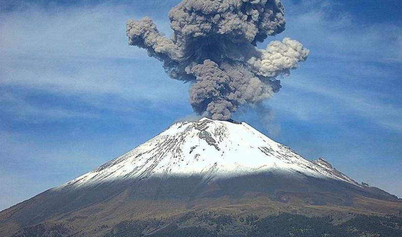 Revisará comisión legislativa de Protección Civil condiciones en torno al volcán Popocatépetl